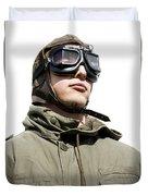 Military Man Duvet Cover