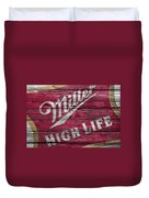 Miller High Life Duvet Cover
