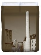 Minneapolis Smokestack Duvet Cover