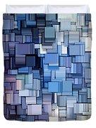 Modern Abstract Vi Duvet Cover