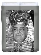 Mohamed Al Fayed Duvet Cover
