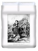 Molly Pitcher (c1754-1832) Duvet Cover