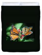 Monarch Danaus Plexippus Duvet Cover