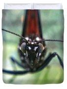 Monarch Stare Duvet Cover
