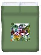 Monet's Garden Duvet Cover