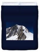 Mont Blanc Massif Duvet Cover