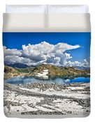 Monticello Lake - Tonale Pass Duvet Cover