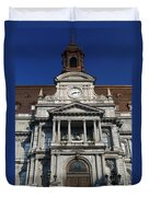 Montreal City Hall Duvet Cover
