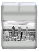 Montreal View Duvet Cover