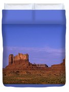 Monument Valley Arizona State Usa Duvet Cover