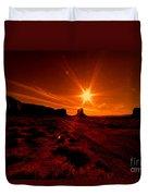 Monument Valley -utah  Duvet Cover