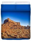 Monument Valley -utah V5 Duvet Cover