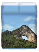 Moon Hill, Yangshuo, China Duvet Cover