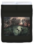 Moonlight Dance Duvet Cover