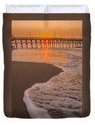 morning at  Myrtle Beach South Carolina Duvet Cover
