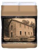 Motor Mill Cooperage Duvet Cover
