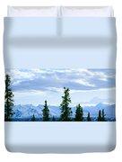 Mount Mckinley, Alaska Duvet Cover