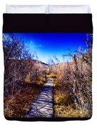 Mountain Creek Path-sundance Utah Duvet Cover