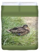 Ms Mallard Duvet Cover