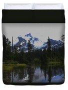Mt Baker Washington  Duvet Cover