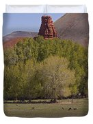 Mule Deer   #2240 Duvet Cover