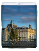 Musee D'orsay Evening Duvet Cover