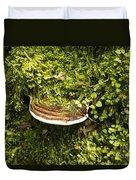 Mushroom Plate Duvet Cover