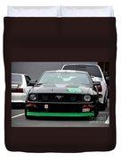 Mustang Race Car Duvet Cover