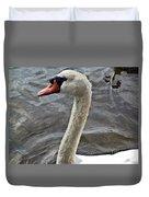 Mute Swan Duvet Cover