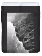 Napali Coast Of Kauai Duvet Cover