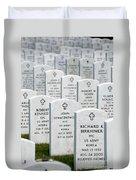National Cemetery Of The Alleghenies Duvet Cover