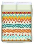 Navajo Mission Round Duvet Cover