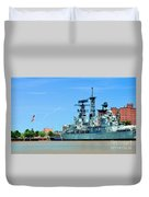 Naval Park And Museum Duvet Cover