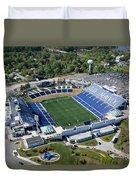 Navy Marine Corps Memorial Stadium Duvet Cover