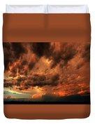Nebraska Thunderset Duvet Cover