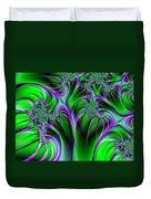 Neon Fantasy Duvet Cover