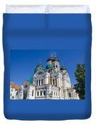 Nevsky Cathedral - Tallin Estonia Duvet Cover