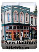 New Baltimore Michigan Duvet Cover
