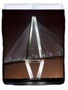 New Cooper River Bridge Duvet Cover