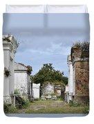 New Orleans Lafayette Cemetery Duvet Cover
