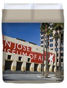 New Wing Of The San Jose Museum Of Art Duvet Cover