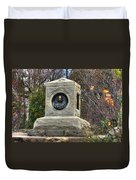 New York At Gettysburg - 140th Ny Volunteer Infantry Little Round Top Colonel Patrick O' Rorke Duvet Cover