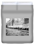 New York City Bread Line Duvet Cover