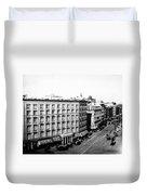 New York City Hotel Duvet Cover