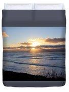 Newport Oregon Sunset Duvet Cover