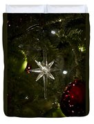 Night View Christmas Tree   1 Of 4 Duvet Cover