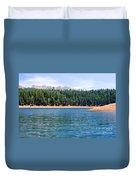 North Catamount Lake Duvet Cover