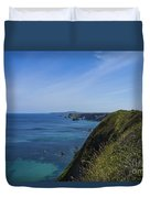 Photographs Of Cornwall North Coast Cornwall Duvet Cover