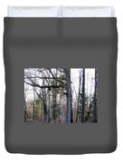 North Texas Trees Duvet Cover