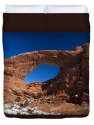 North Window Arches National Park Utah Duvet Cover